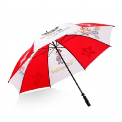 Double ribs budget big size umbrella