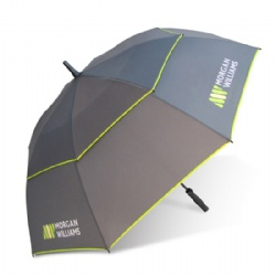 Real Double Canopy Golf Umbrella Air Vented,Umbrella Double Layer