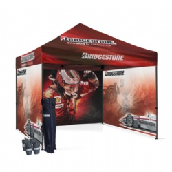 10ftx10ft Custom Printed Folding Tent,3mx3m Custom Printed Folding Gazebo