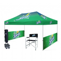 10ftx15ft Custom Printed Pop Up Tent