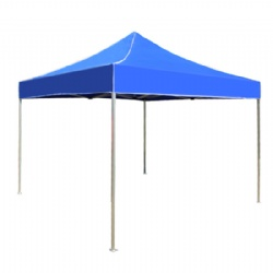 Blue Color Customized Pop Up Gazebo Tent With Branded Logo