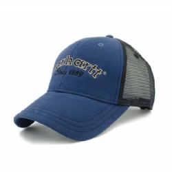 Custom Promotional Hat Mesh Cap with Embroidered Logo