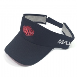 Customized Sports Visor Cap,Sun Visor Hat with Embroidered Logo