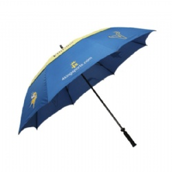 Custom Recycled PET Vented Umbrellas With Text