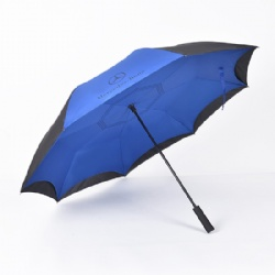 Oversize 27 inches Upside Down Reverse Inverted Umbrella
